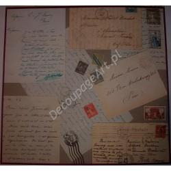 Papier do decoupage Dayka 249 Listy
