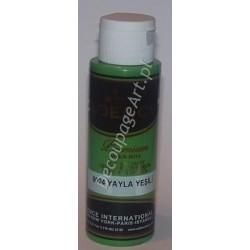 Farba akrylowa Cadence 70 ml 8024 zieleń płaskowyżu