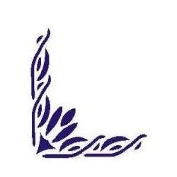 Szablon narożnik 53 - 12 x 15 cm