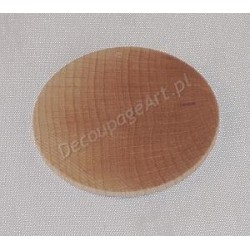 Kolczyk/zawieszka okrągła 3,5 cm