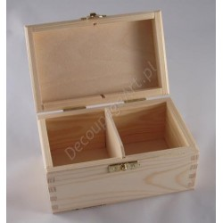 Pudełko na herbatę x 2 z zatrzaskiem