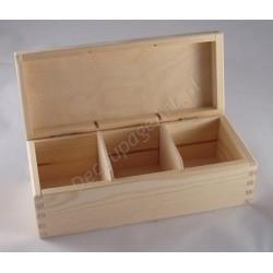 Pudełko na herbatę x 3