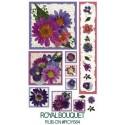 Kalkomania artystyczna - Royal Bouquet
