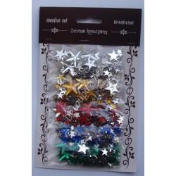 Zestaw kamyczków dekoracyjnych mix - gwiazdki