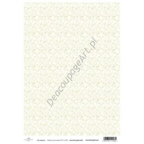 Papier do decoupage ITD SOFT 020 - Drobne kwiatuszki