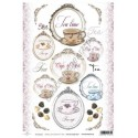 Papier do decoupage ITD SOFT 023 - Herbata