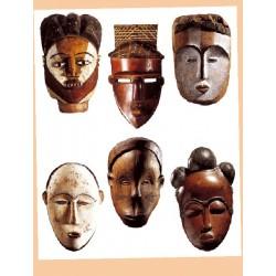 Kalkomania Arte - Maski