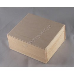 Pudełko kwadratowe małe