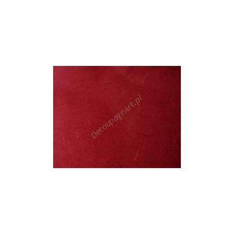 Papier ryżowy 50x70 cm - czerwony
