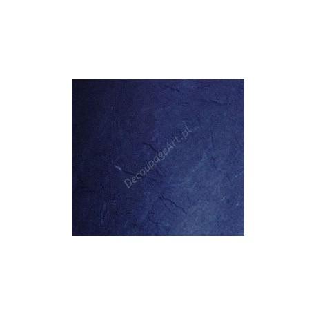 Papier ryżowy 50x70 cm - granatowy