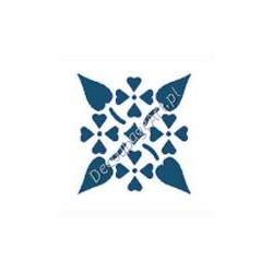 Szablon Ornament 92 - 12 x 15 cm