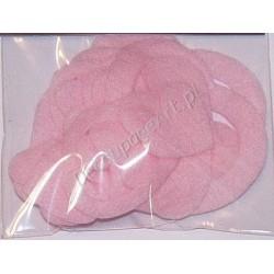 Serca z filcu jasno-różowe