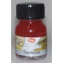 Edelmetall - płynny metal Dunkelrot