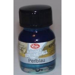 Edelmetall - płynny metal Perlblau