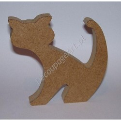 Stojak z MDF 12 cm. Nr 10 Kot