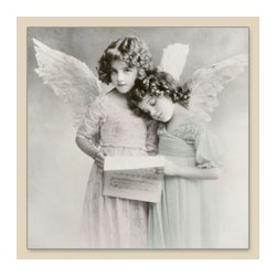 Serwetka do decoupage Angels Reading