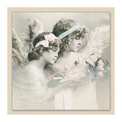 Serwetka do decoupage Flower Angels