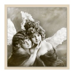 Serwetka do decoupage Vintage Angels