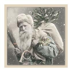 Serwetka do decoupage Santa