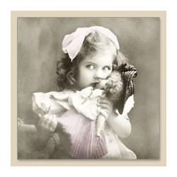 Serwetka do decoupage Girl With Doll