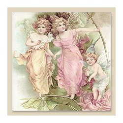 Serwetka do decoupage Fairies
