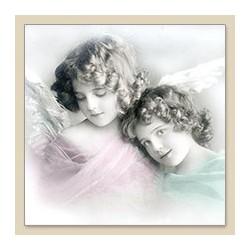 Serwetka do decoupage Colored Angels