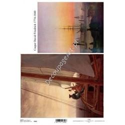 Papier do decoupage ITD SOFT 062 - Malarstwo Friedrich