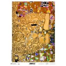 Papier do decoupage ITD SOFT 098 - Klimt