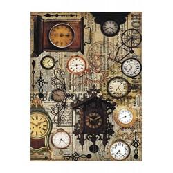Papier Ryżowy Cadence 014 Zegary