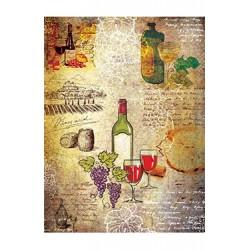 Papier Ryżowy Cadence 032 Wino
