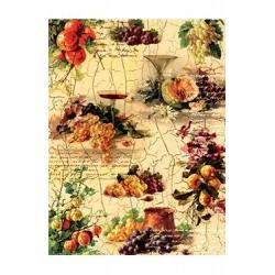 Papier Ryżowy Cadence 035 Owoce