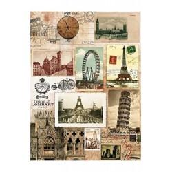 Papier Ryżowy Cadence 045 Miasta Europy