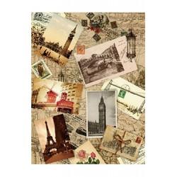 Papier Ryżowy Cadence 050 Pocztówki z podróźy