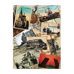 Papier Ryżowy Cadence 052 Pocztówki z podróźy