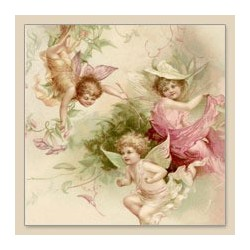 Serwetka do decoupage Fairies babies