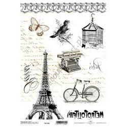 Papier do transferu ITD Classic 002 Paryż