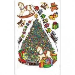 Kalkomania artystyczna - O Christmas Tree