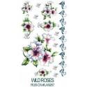 Kalkomania artystyczna - Wild Roses
