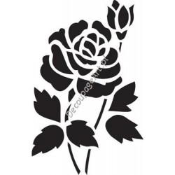Szablon 15x20 cm - 010 róża