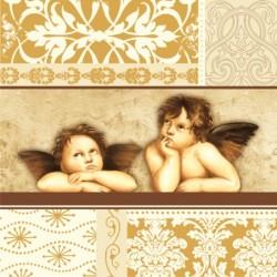 Serwetki do decoupage - angels rafaelki i ornamenty