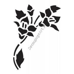 Szablon 15x20 cm - 017 bukiet kwiatów
