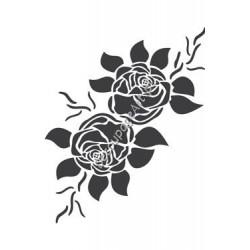 Szablon 15x20 cm - 032 róże