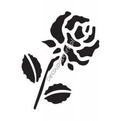 Szablon 15x20 cm - 035 róża