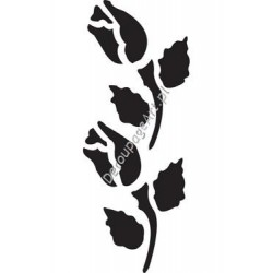 Szablon 15x20 cm - 045 tulipany