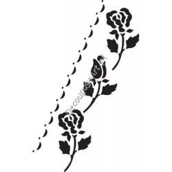Szablon bordiurowy Cadence 052 róże
