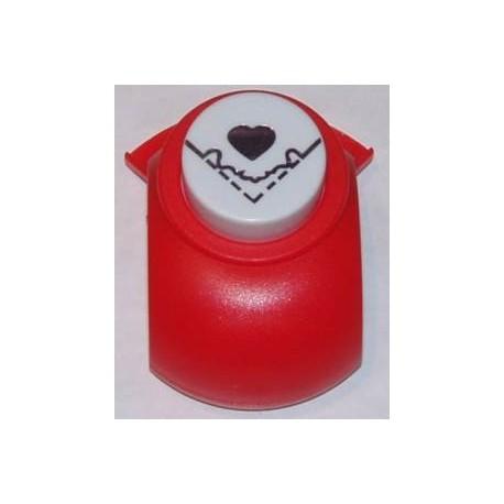 Ozdobny dziurkacz (puncher) do papieru 2,5 cm - narożnik serce