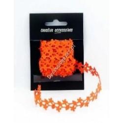 Bordiurka kwiatowa pomarańczowa
