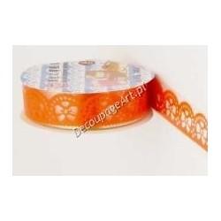 Bordiura samoprzylepna 31 kokardki pomarańczowe