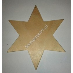 Zawieszka gwiazdka 15 cm