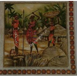 Serwetki do decoupage - Afryka trzy murzynki